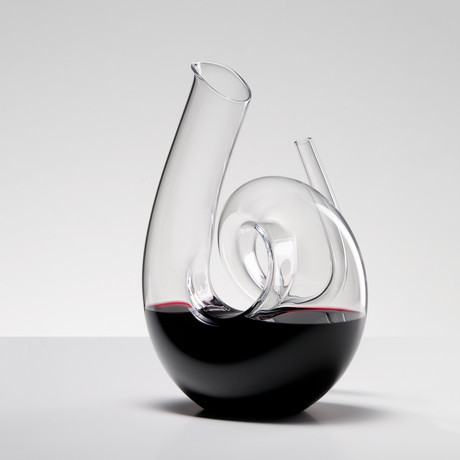 Curly Clear Decanter