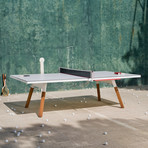 You and Me Ping-Pong Table // Standard (White)