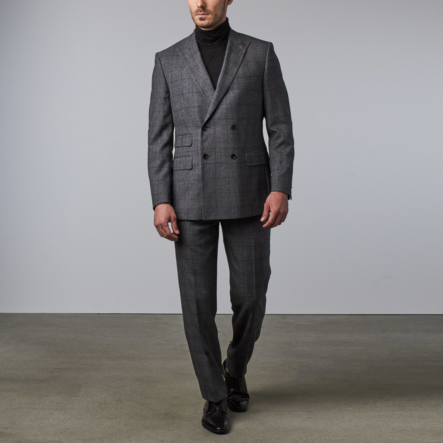 Image result for images of Double-Breasted Suit and Peak Lapel