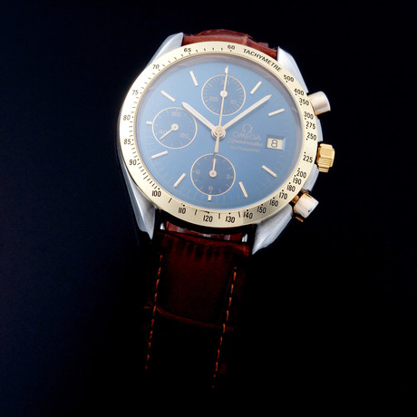 Omega Speedmaster Date Chronograph Automatic // 33118 // TM874 // c.1990's // Pre-Owned