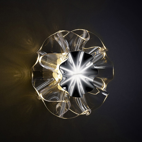 Flamenca Wall Lamp // Clear