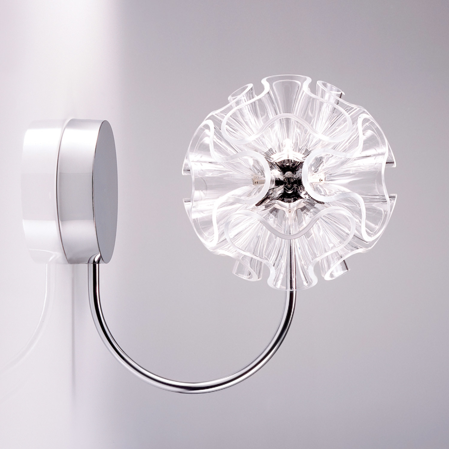 Coral Wall Lamp Clear Qisdesign Touch Of Modern
