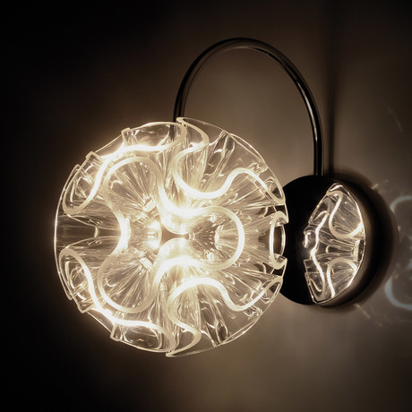 Coral Wall Lamp // Clear