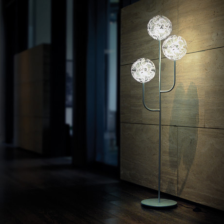Coral Floor Lamp (Clear)