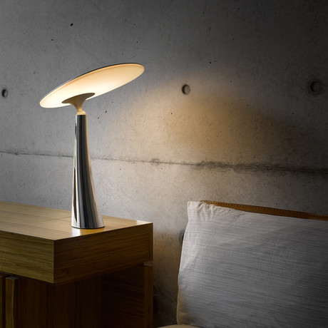 Coral Reef Table Lamp // Silver