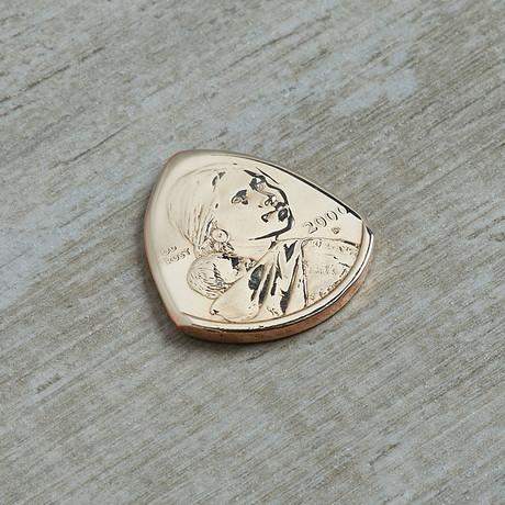 US Sacagawea Golden Dollar Coin Guitar Pick