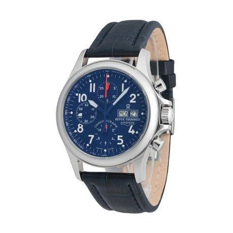 Revue Thommen Air Speed Chronograph Automatic // 17081.6539