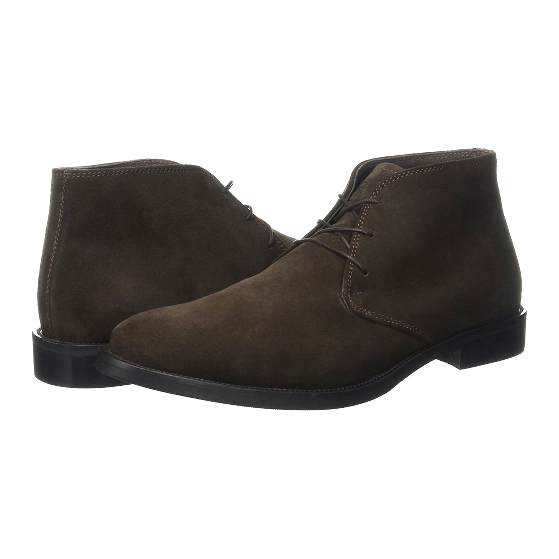 separation shoes e4cd8 73886 Alexander Trend // Suede Chukka Boot // Dark Brown (Euro: 40 ...
