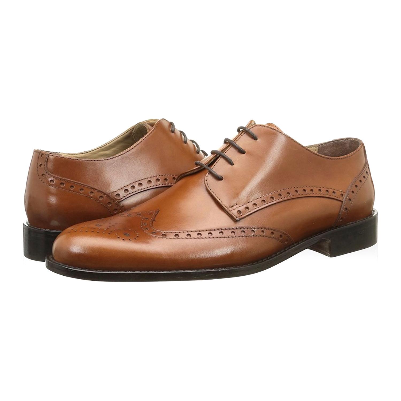 low priced c39af 460c9 Alexander Trend // Leather Wingtip Derby // Leather (Euro ...