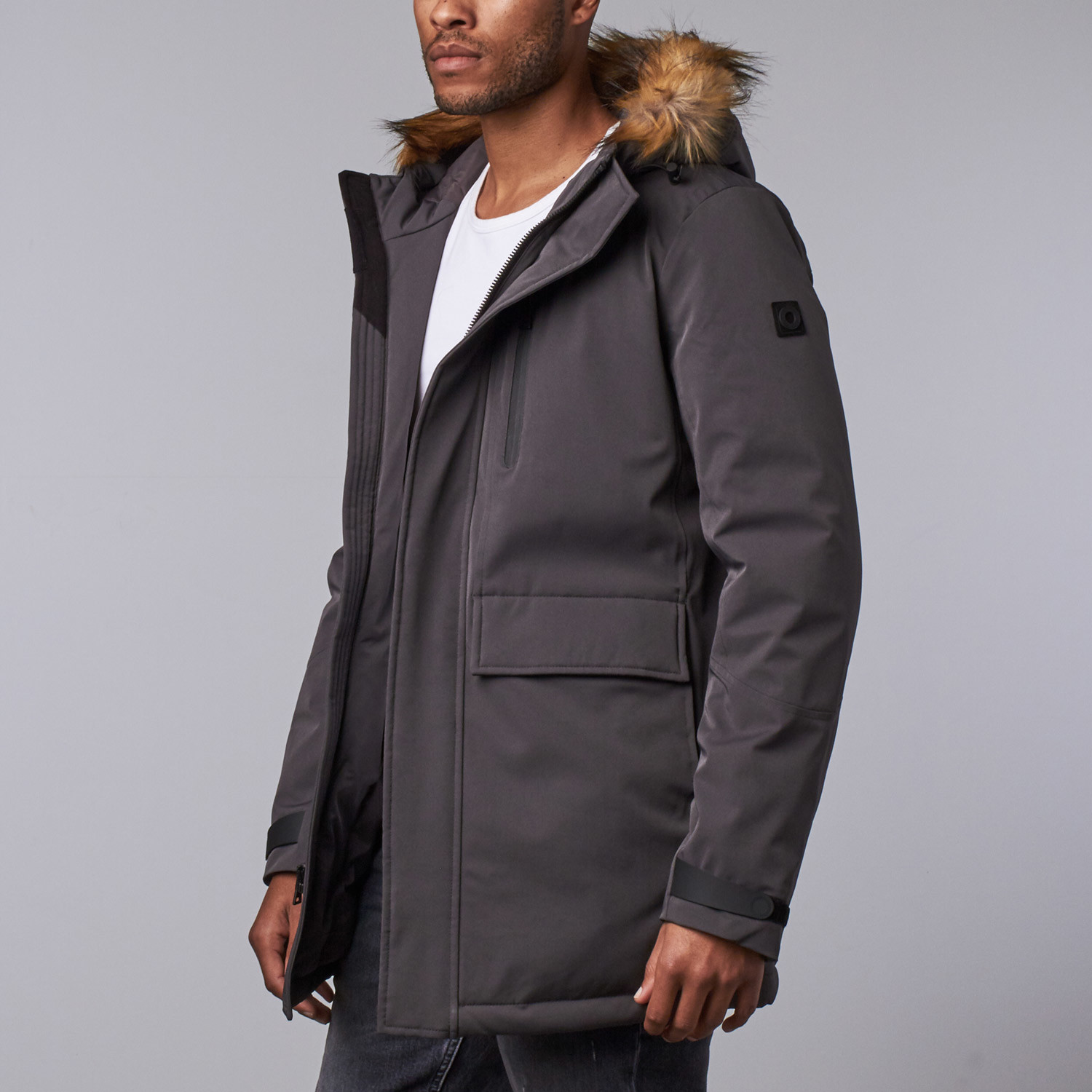 1c8aa39f6 Tech Down Parka // Charcoal (S) - OROBOS - Touch of Modern