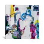 "Mardi Gras // Jane M. Robinson (12""W x 12""H x 0.75""D)"