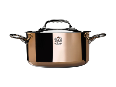 """Touch Of Modern - de Buyer Custom French Cookware  Prima Matera // Induction Stewpan + Lid (7.8"""" Diameter) Photo"""