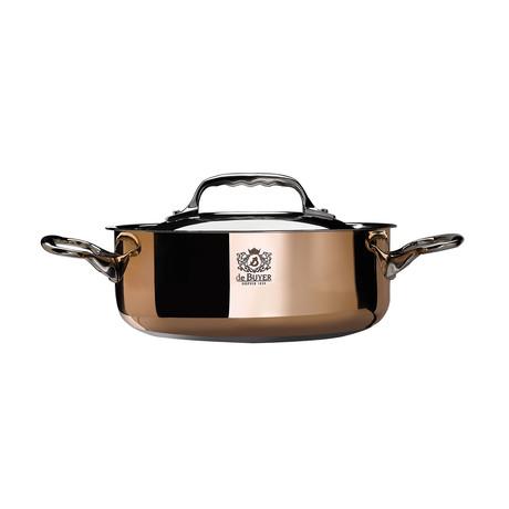 """Prima Matera // Induction Saute Pan + Lid (7.8"""" Diameter)"""