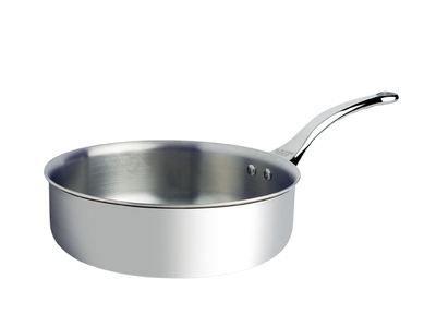 """Photo of de Buyer Custom French Cookware  Affinity // Straight-Edged Stainless Steel Saute Pan (9.36"""" Diameter) by Touch Of Modern"""