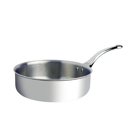 "Affinity // Straight-Edged Stainless Steel Saute Pan (9.36"" Diameter)"