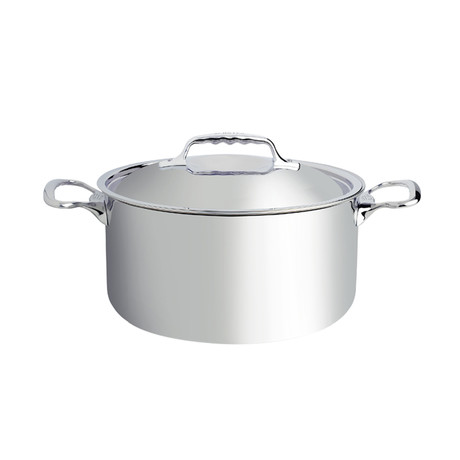 """Affinity // Stainless Steel Stew Pan + Lid (7.8"""" Diameter)"""