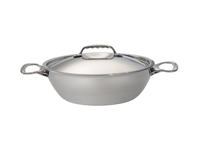 Touch Of Modern - de Buyer Custom French Cookware  Affinity // Conical Saute Pan with 2 Handles + Lid Photo