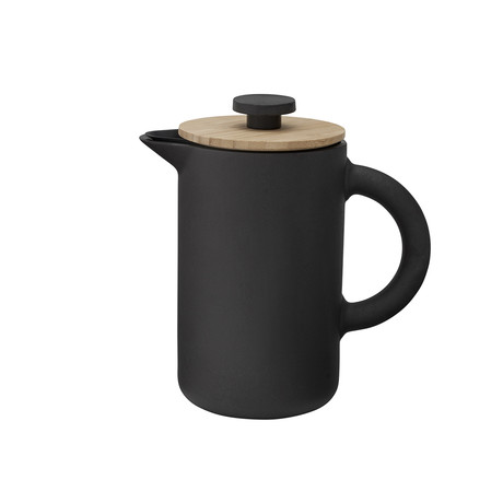 Theo // French Press // Black