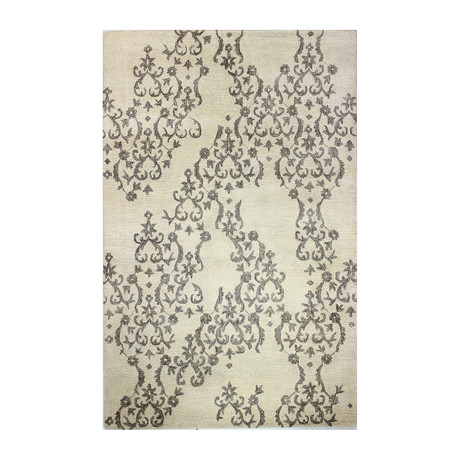 Lace // Ivory Wool + Viscose Rug