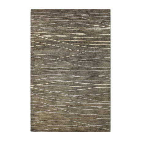 Intersect // Taupe Wool + Viscose Rug