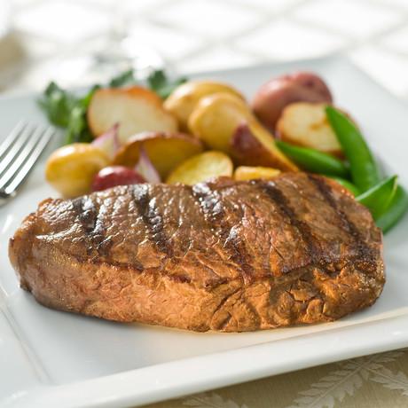 Choice Boneless NY Strip Steak // 4 Pieces