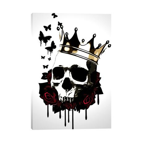"""El Rey De La Muerte (18""""W x 26""""H x 0.75""""D)"""