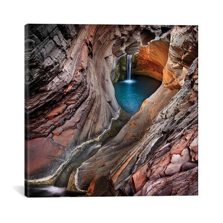 "Spa Pool, Hamersley Gorge // Ignacio Palacios (18""W x 18""H x 0.75""D)"