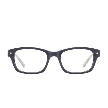 Lou // Black + Charcoal Oak Frame