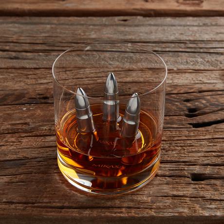 The Original Whiskey Bullet // Set of 3 + Wooden Box