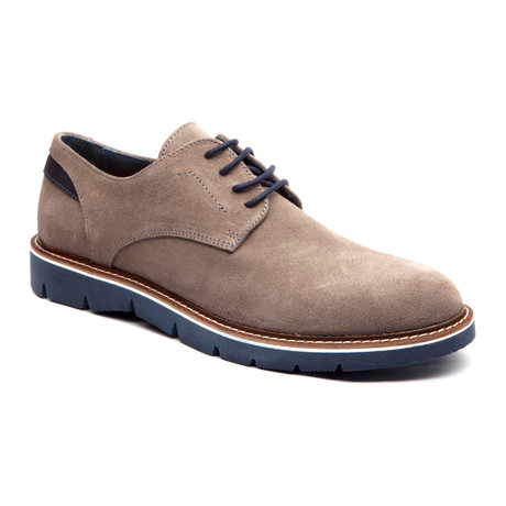 Sarria Plain Toe Derby // Grey