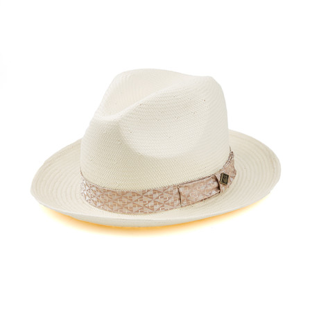 Fly Heights Fedora // White