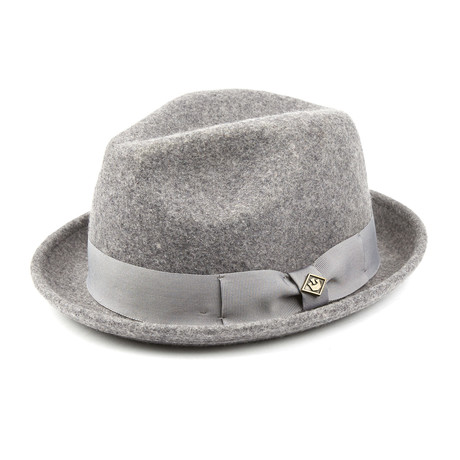 Rude Boy Fedora // Grey (S)