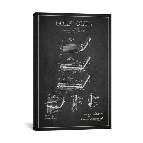 Golf Club I // Charcoal