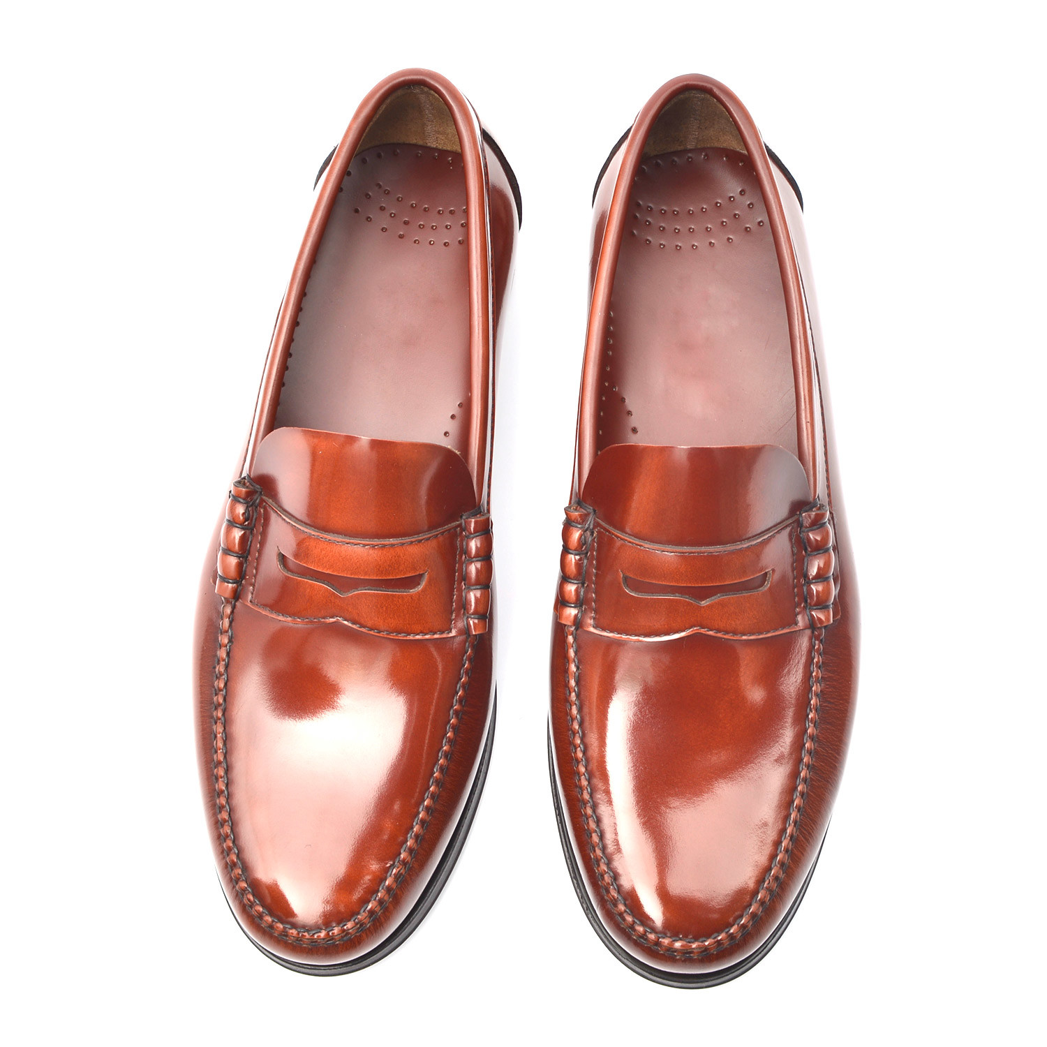 Rubber Sole Penny Loafer // Redwood (Euro: 38) - Gil's ...