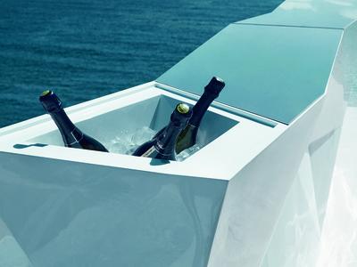 Photo of VONDOM® Spanish-Designed Housewares FAZ Illuminated Bar + Ice Bucket by Touch Of Modern