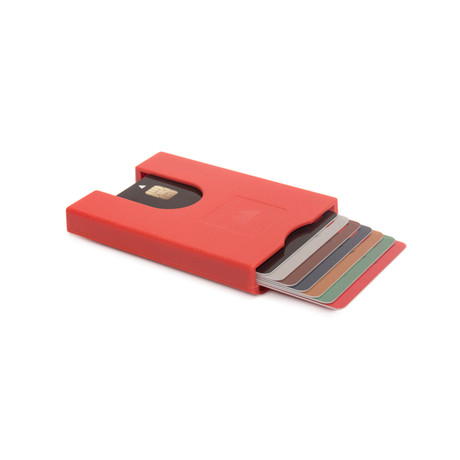 Walter Wallet // Jet Red