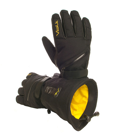 Tatra Heated Gloves // Black (M)