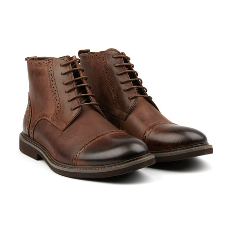 Bainbridge Cap Toe Boot // Brown (US: 8)