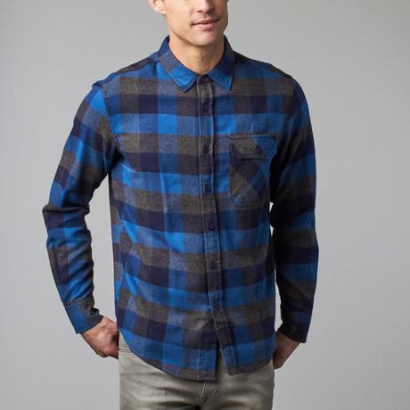 Kyrie Flannel Shirt // Twilight (S)