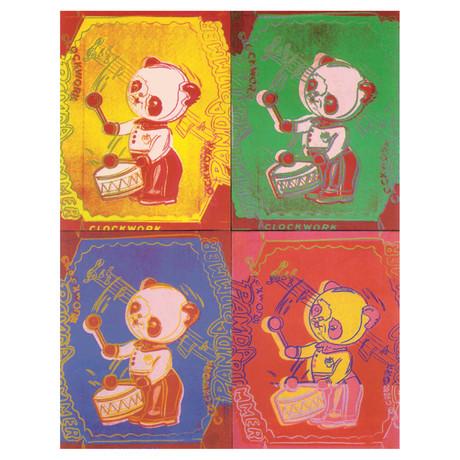 Andy Warhol // Four Pandas (sm) // 1999 Offset Lithograph
