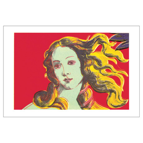 Birth of Venus-Red // Andy Warhol // 2000 Offset Lithograph