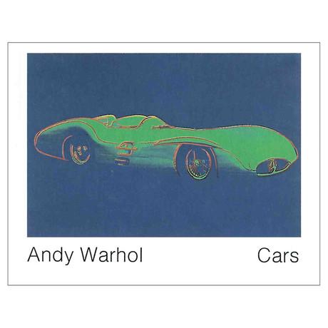 Andy Warhol // Formula 1 Car W196 R (1954) // 1989 Offset Lithograph