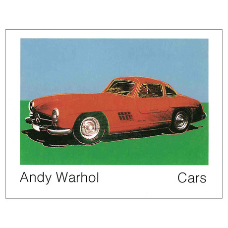 Andy Warhol // 300 Sl Coupe (1954) (Lg) // 1989 Offset Lithograph