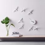 Migrant Bird Clock (C-Formation)