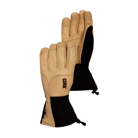 Spike Gauntlet Glove // Natural + Black (S)