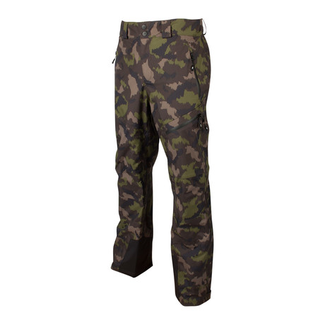 Rudy 3-Layer Pant // Camo Print + Anthracite (XL)