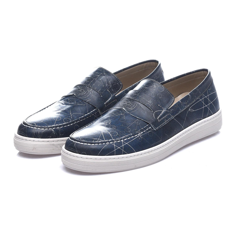 Balder Penny Loafer Sneaker // Navy