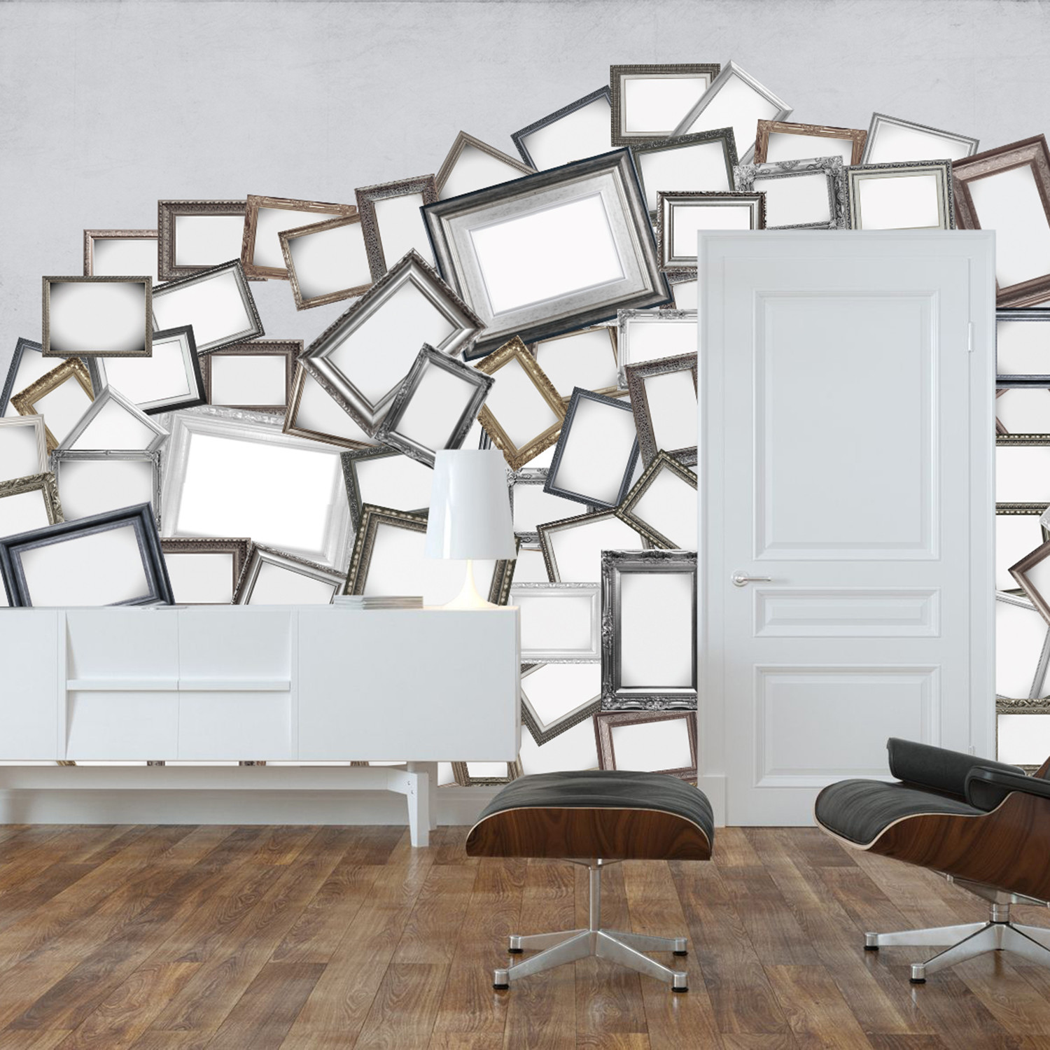 Creative Collage // Frames - 1 Wall Murals - Touch of Modern