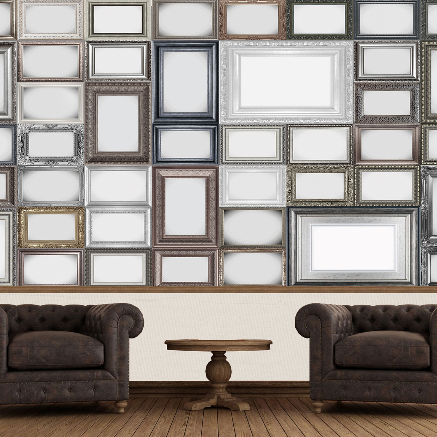 Creative Collage // Frames - 1WallMurals - Touch of Modern
