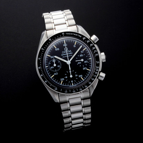 Omega Speedmaster Chronograph Automatic // 35395 // c.2000's // Pre-Owned